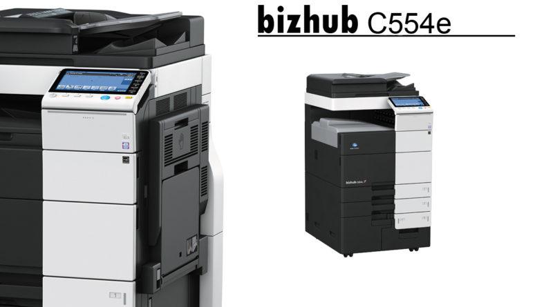 bizhub C554e