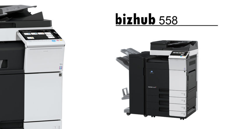 bizhub 558